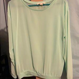 Aquamarine blouse